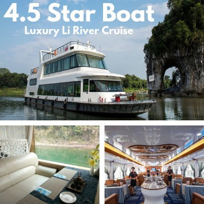 Luxury 4.5 Star Li River Cruise