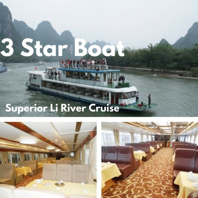 Superior 3 Star Li River Cruise