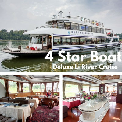 Deluxe 4 Star Li River Cruise